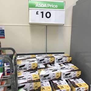 24 cans of Carling booze for a tenner instore at Asda (Basingstoke) £10