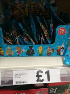 Lego minifigures series 17 down to £1 instore at Tesco