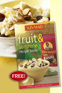 FREE Sun-Maid Fruit & Sunshine Recipe Book to Download