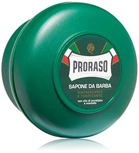 Proraso Shaving Soap in a Bowl, Green at Amazon for £2.70 (add-on item)
