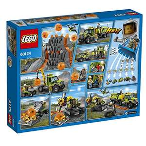 LEGO 60124 City Volcano Exploration Base Building Toy at Amazon for £49.99