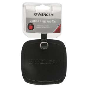 Wenger Swiss Gear Jumbo Luggage Tag - 99p @ Home Bargains (In Store)