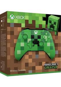 Xbox One Wireless Controller - Minecraft Creeper on Xbox One + more at same price or less at Simply Games £46.85