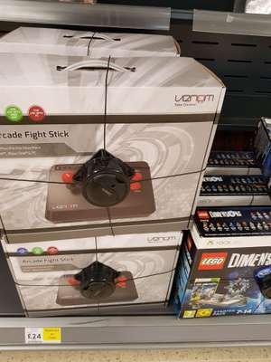 VENOM ARCADE FIGHT STICK instore at Tesco for £24 discount offer
