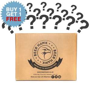 Beer hawk mystery box bogof @ beer hawk £30