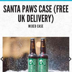 Brew dog Santa Paws 24case £24 delivered