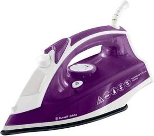 Russell Hobbs Supreme Steam Traditional Iron 23060, 2400 W - Purple/White £12 @ Tesco