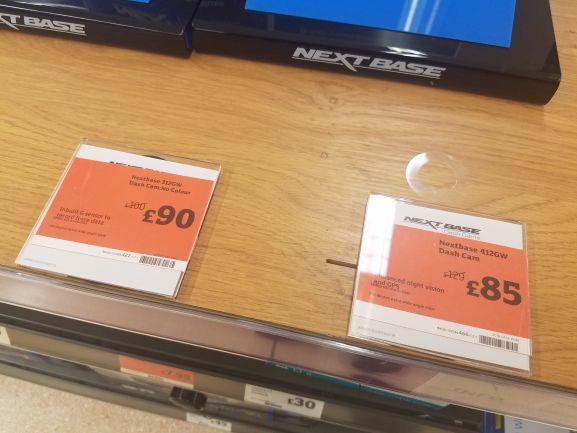 Nextbase Dash Cam 312gw £90, 412gw £85 instore @ Sainsburys