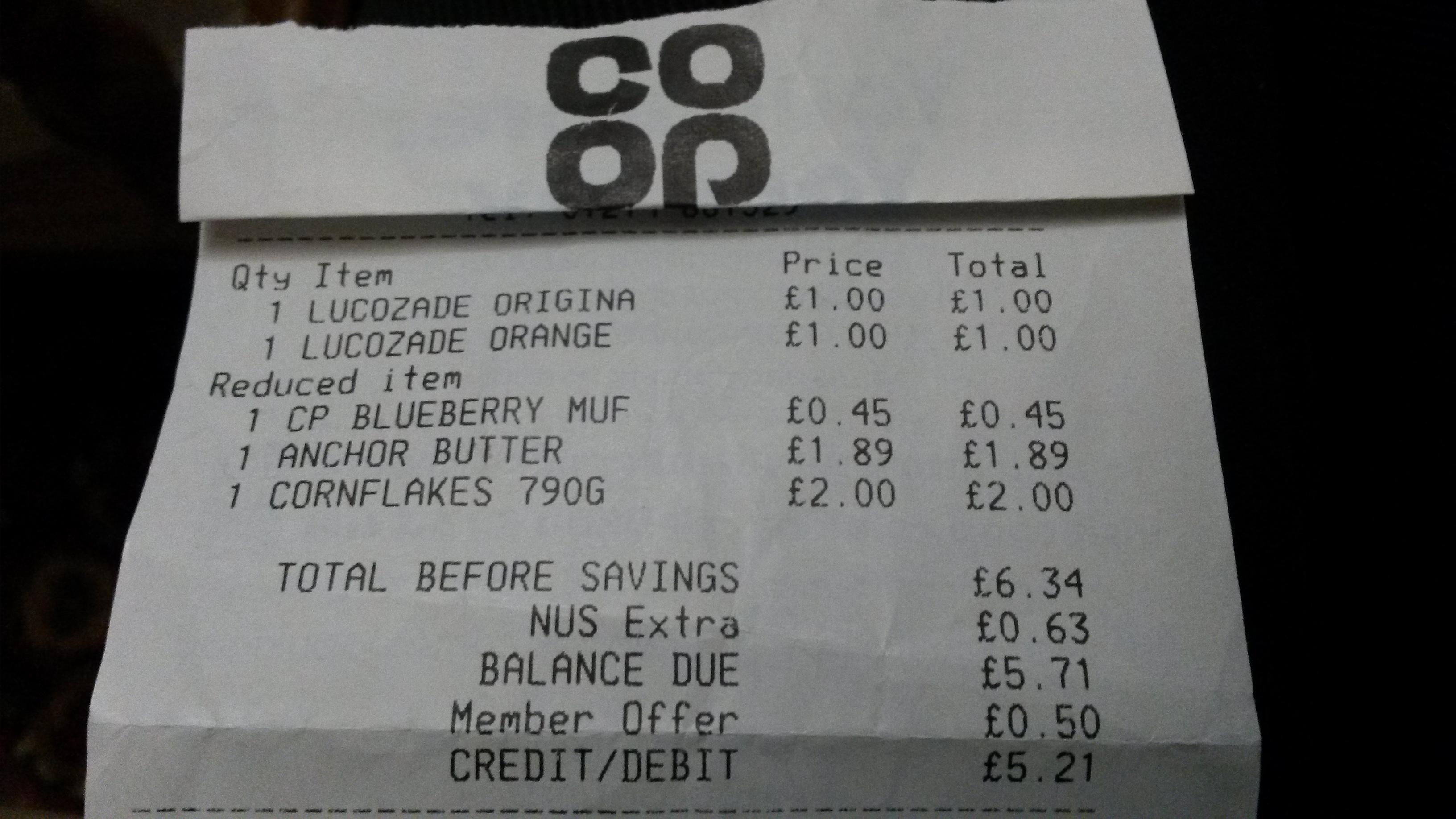 Kelloggs Cornflakes 790g £2 instore @ CoOp