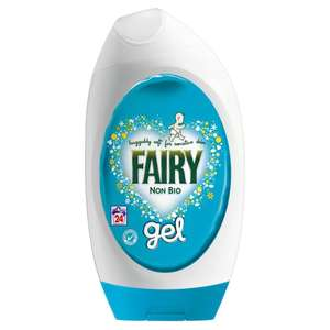 Fairy Non Bio Washing Gel 24 washes 888ml at Morrisons £4