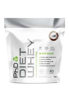 Half price PhD protein powder £8.49 / £8.07 S&S @ Amazon
