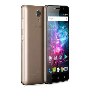 """m-net Power 1 5050mAh 5.0"""" HD Android 7.0 RAM 1GB ROM 8GB Quad Core Front Back Camera Double Flash OTG Dual Sim Slot Smartphone Moible Cell Phone £45 Sold by M-HORSE & m-net Direct and Fulfilled by Amazon."""