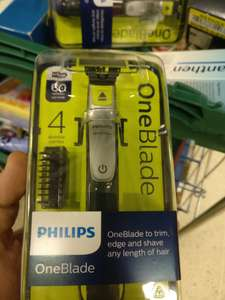 Philips One Blade Shaver Thingy £28 from £70 in store Tesco