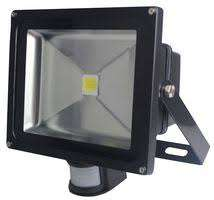 50W LED Floodlight with PIR Sensor, 6000K, IP65. free delivery £18.72 @ CPC