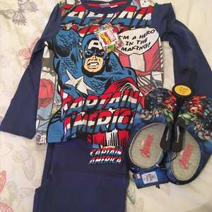 Primark children's pj's and slippers £3