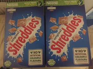 Nestlé Shreddies 750g 2 BOXES FOR £1!! @ Heron 1.5kg breakfast cereal