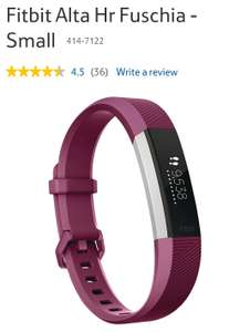 Fitbit Alta HR – £99 @ Tesco (Free C&C) discount offer