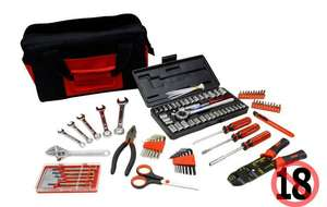 Phaze 95 piece Tool Kit was £50 now £20 @ Halfords. £3.99 delivery