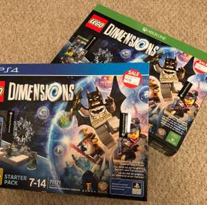 Lego Dimensions Starter Pack PS4 XBOX One £12.50 Instore @ Asda