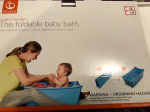 Stokke Flexi foldable baby bath £15 *in store only* Mothercare (Solihull retail park)