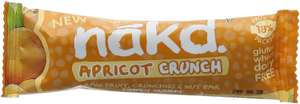 Amazon Nakd Bars Apricot Crunch Pack of 18 - £7.99  delivered on S&S