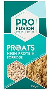 Profusion Organic Proats High Protein Porridge 350g (Pack of 6) Amazon S&S (Add-on Item) - £4.09