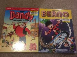 BEANO & DANDY 2018 Annuals 50p instore @ Tesco discount offer