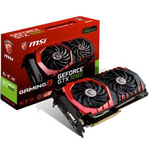 **B GRADE** MSI GEFORCE GTX 1080 GAMING X RGB 8192MB GDDR5X PCI-EXPRESS GRAPHICS CARD £428.99 @ OCL