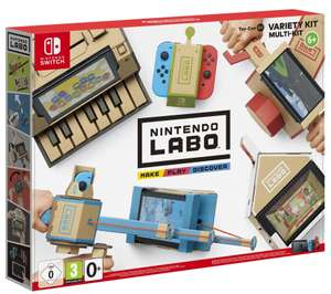 Pre-Order - Nintendo Labo Variety Kit 1 (Nintendo Switch) Toy Con 1 £53.85 @ Base