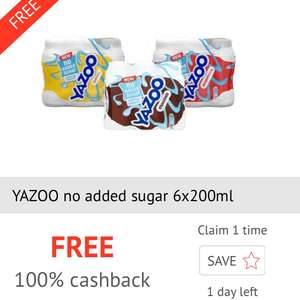 Yazoo 6*200ml free via CheckoutSmart from Tesco