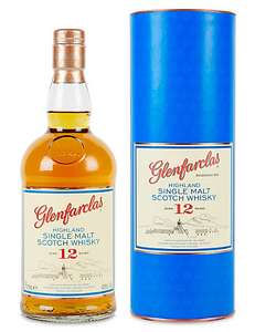 Glenfarclas 12yr old single malt scotch whisky 70cl in store & online at M&S - £28
