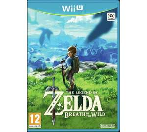 Zelda Breath of the Wild Wii U only £32.99 at Argos and Amazon.