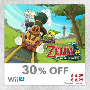The Legend of Zelda: Spirit Tracks [Wii U] £6.29 [100 Platinum] + More @ Mynintendo
