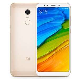 Global Version Xiaomi Redmi 5 Plus 5.99 Inch 4G LTE Smartphone 18:9 Full Screen MIUI 9 3GB 32GB Snapdragon 625 Octa Core 12.0MP Camera Touch ID 4000mAh Battery - Gold @geekbuying for £118.48