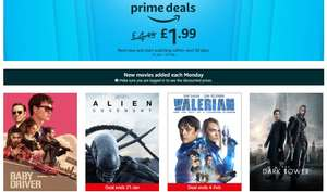 Amazon Video - 50% off latest movies