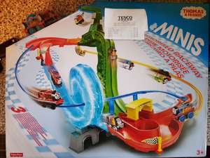 Thomas & Friends Minis Motorised raceway playset; Tesco In-Store for £11.20