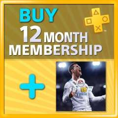 12 Months PlayStation Plus with Fifa 18 on Hong Kong PSN Store around £50 via Play Asia