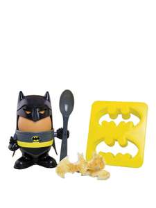 Batman Egg Cup and Toast Cutter now £5 / Eggsplode Tank-Shaped Egg Cup and Soldier Toast Cutter £4 C+C via Collect+ @ Very