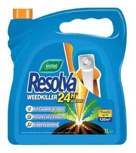 Westland Resolva 24 Hour Weedkiller 3L £1.00 @ Wickes