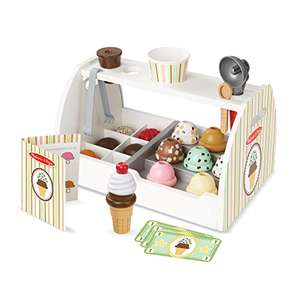 Melissa and Doug Ice Cream Counter wooden £35.83 delivered