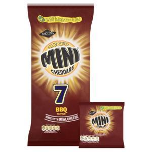 BBQ Mini Cheddars 7pk 75p @ Home Bargains