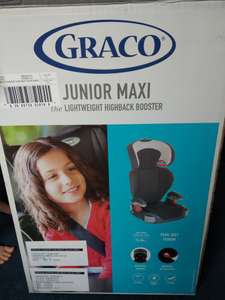 Graco junior maxi car seat £23 @ Tesco extra - Purley