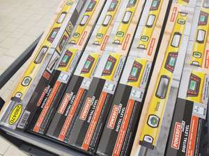 Powerfix 800mm Digital spirit level with carry case £17.99 @ Lidl