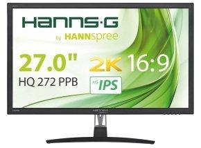 "HannsG HQ272PPB 27"" WQHD 2K IPS Monitor £186.21 @ Ebuyer & Amazon (available to order)"