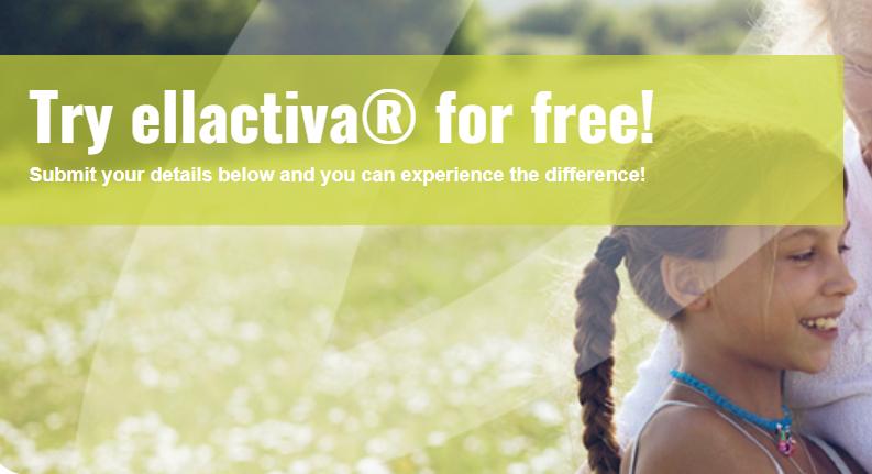 Try ellactiva® Caramel Calcium Chews for free