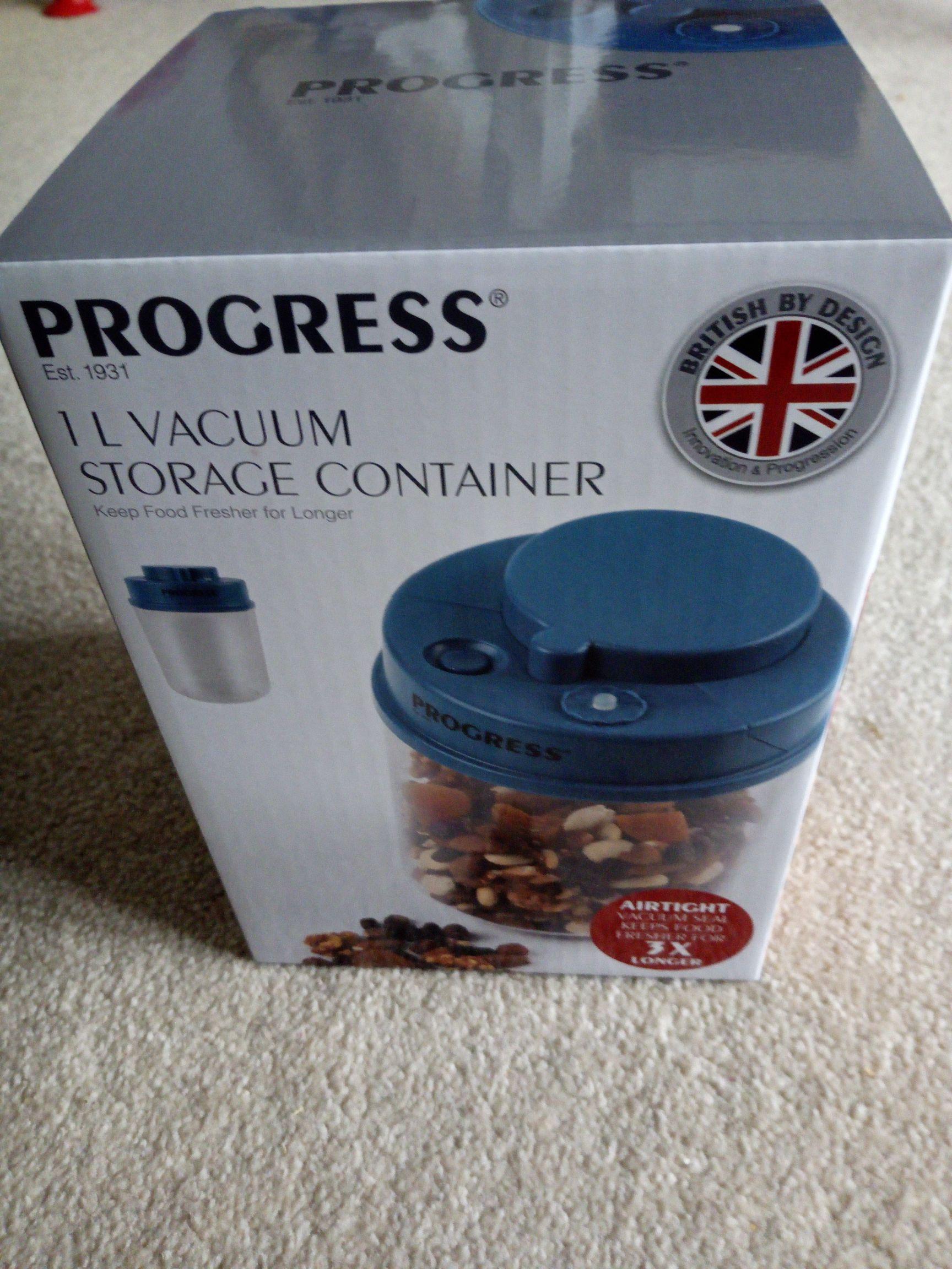 Vacuum storage container...£1 @ Morrison's instore