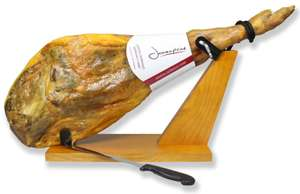 Jamón Serrano Ham Leg- with stand £20 @ instore Morrisons Totton