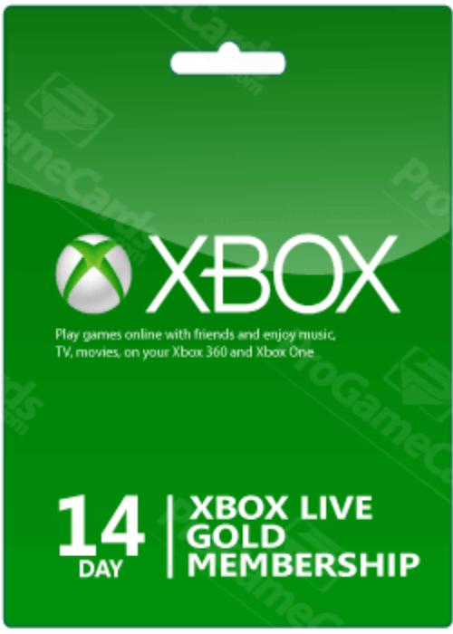 Xbox 14 Days Gold Membership £3.10 @ Scdkey