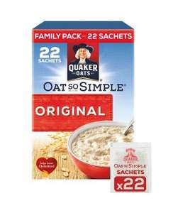 Quaker Oats Porridge (All family packets) £2 each rollback @ Asda