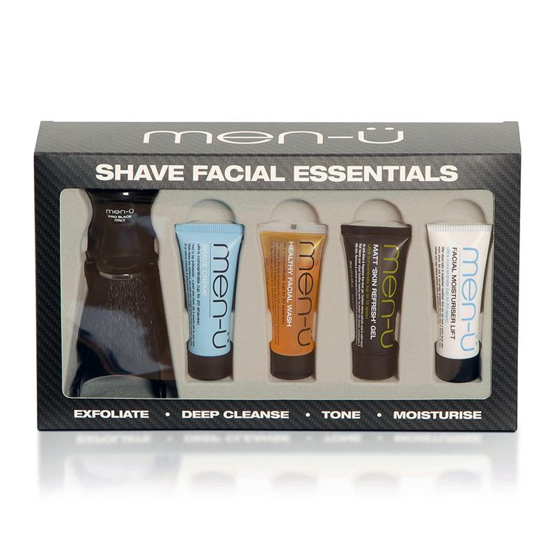 men-ü Shave Facial Essentials Gift Set £8.95 / £12.90 delivered @ Feel unique